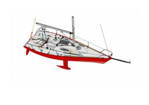 BlueLobster DOD24.5 Details Segelschiff