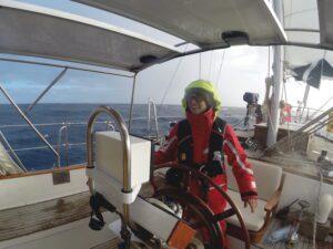 Skipper Alessia Atlantiküberquerung